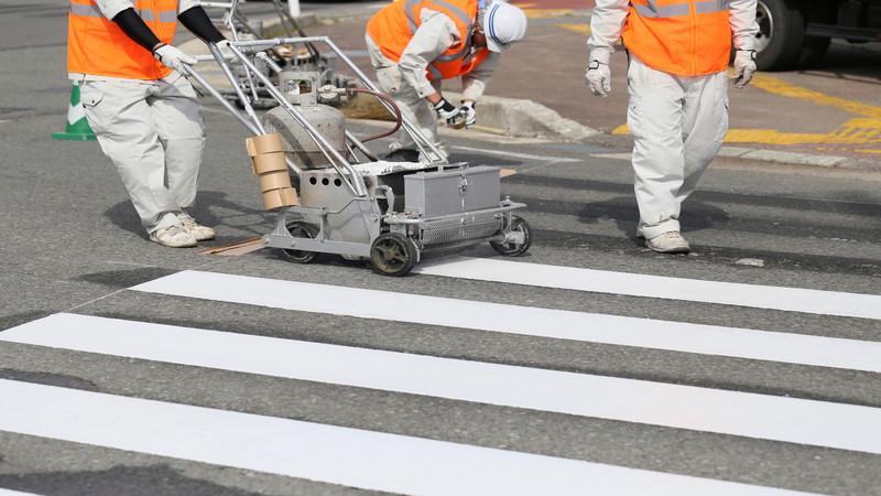 白線工事の仕事にはこんなおもしろさがある!
